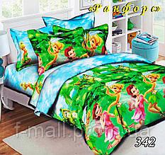 Комплект детского постельного белья Тет-А-Тет (Украина) ранфорс полуторное (342)