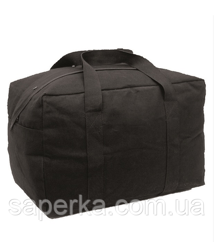 Транспортная сумка чёрная Mil-Тec. Германия, фото 2