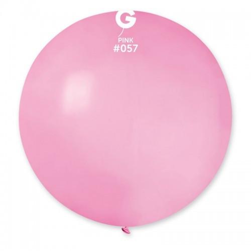 """Латексна кулька пастель Рожева 31""""/57 GEMAR"""