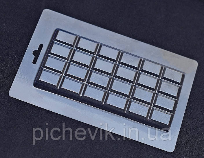 "Форма пластиковая ""Шоколад - ""Классика""  E1-036 (Размер формы 115*180мм)"