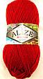 Пряжа для вязания Бургум классик ALIZE красный 106, фото 2