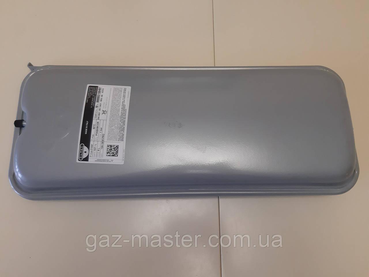 """Бак расширительный Zilmet боковое крепление Объем 6 литров 3/8""""G - 13N6000623"""