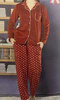 Пижама женская тёплая. Турция