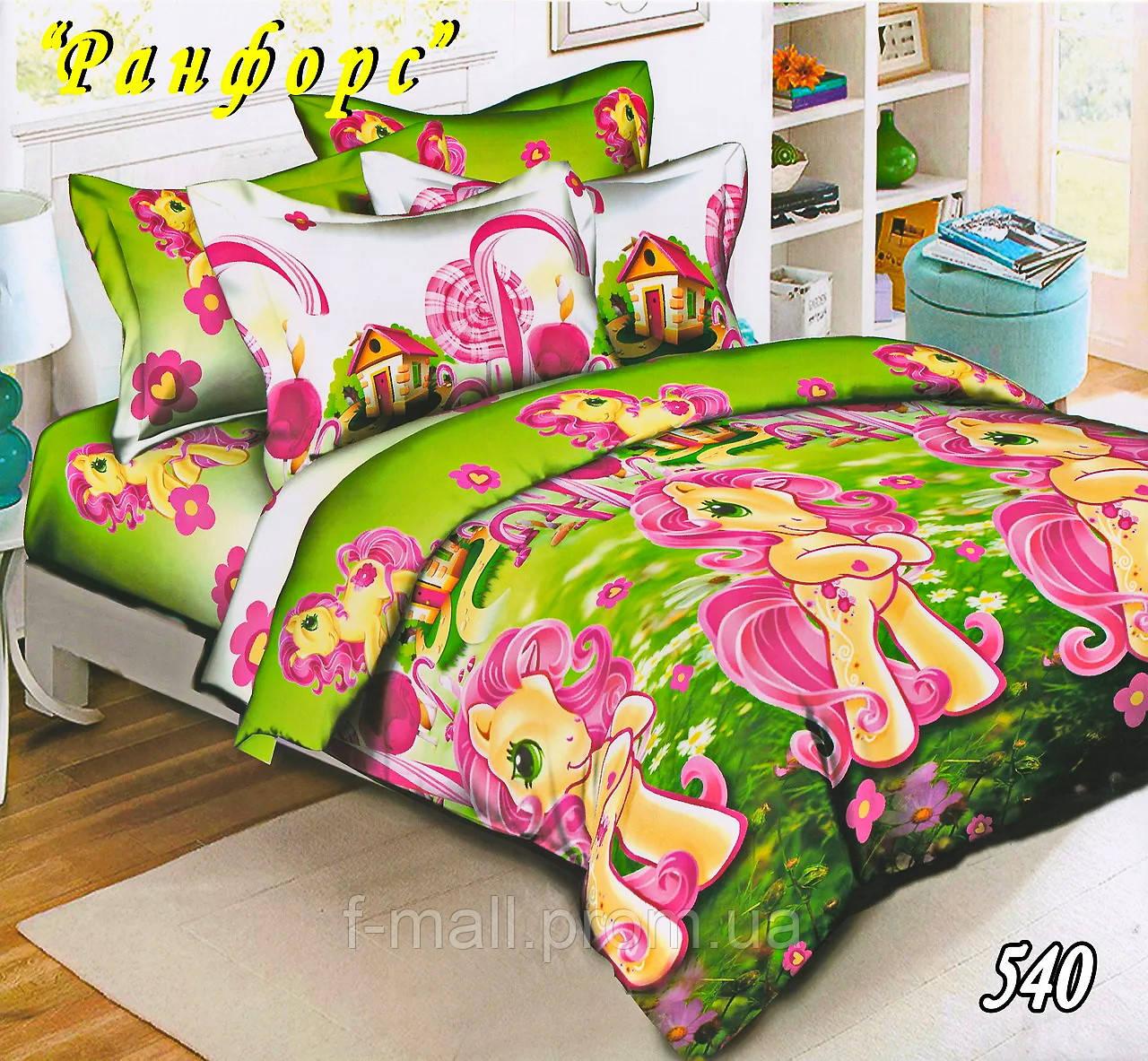 Комплект детского постельного белья Тет-А-Тет (Украина) ранфорс полуторное (540)