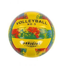 Мяч волейбольный (желтый)  sco