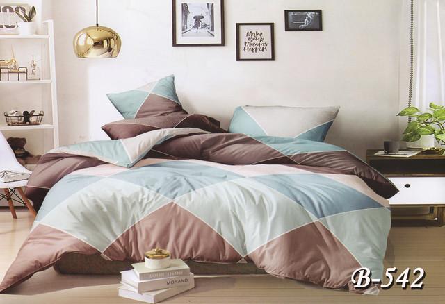 Двоспальне постільна білизна Тет-А-Тет В-542 бязь