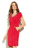 Платье Misaki Zaps красного цвета. Коллекция весна-лето 2020.