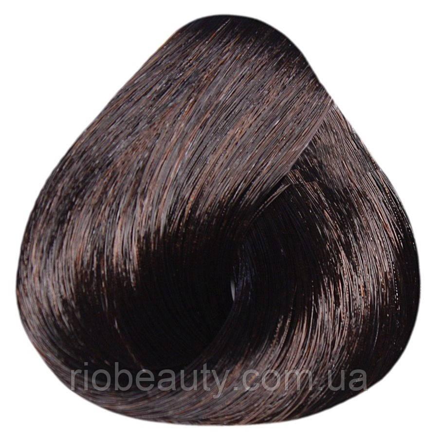 Краска уход ESTEL SILVER De Luxe 4/7 Шатен коричневый 60 мл