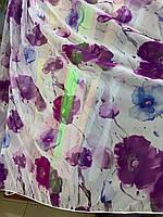 Вуаль печать (квітковий принт ), фото 1