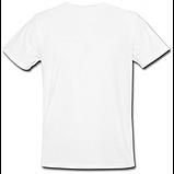 Белая футболка  на заказ с прикольной картинкой, фото 3