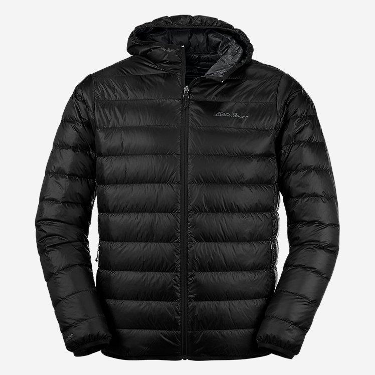 Ультра легкий пуховик Eddie Bauer Men's CirrusLite Hooded Down Jacket L