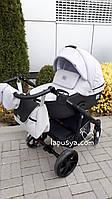 Дитяча коляска 2в1 Adamex Hybryd Plus BR205-A Світло-сірий з чорним