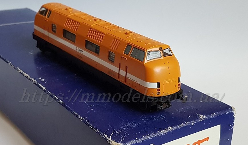 Roco 63977 локомотив серии 2904 COMSA V200,DSS, масштаба H0,1:87