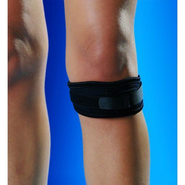 Спортивный бандаж на колено с силиконовой вставкой 1510