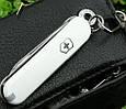 Оригинальный швейцарский складной нож Victorinox Classic Sd 06223.7 белый, фото 2