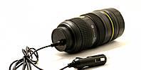 Термокружка Фотообъектив с подогревом от прикуривателя, Термокружка Фотооб'єктив з підігрівом від прикурювача, Оригинальные чашки и кружки
