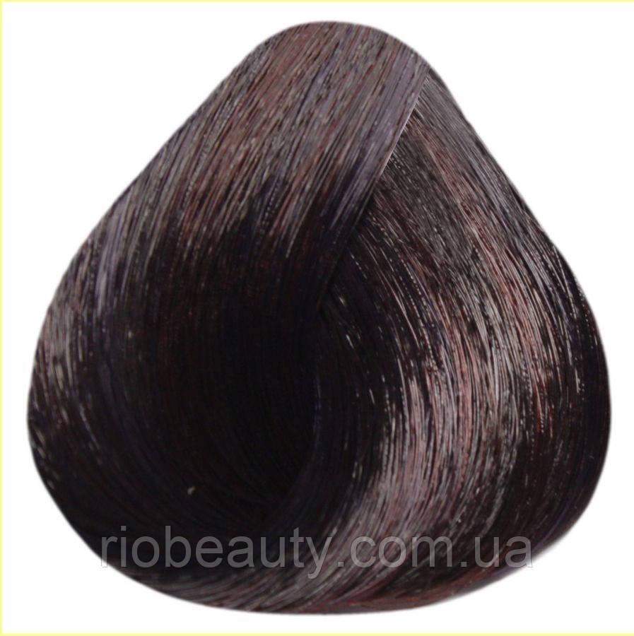 Краска уход ESTEL SILVER De Luxe 4/76 Шатен коричнево-фиолетовый 60 мл