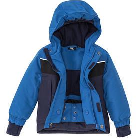 Термокуртка синяя зимняя лыжная для мальчика Crivit Pro р.98/104, 110/116см