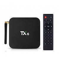 TX6 H6 4/32GB 4K Smart TV (смарт тв) Android 9.0 приставка, фото 1