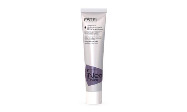 Estel iNeo Color Цветной ламинирующий 3D-гель для волос тон 61 Светский раут, 60 мл