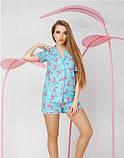 Женская хлопковая пижама, фото 4