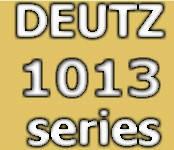 Запчасти к двигателю Deutz 1013 series