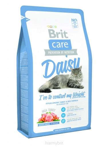 Brit Care Cat Daisy I have to control my Weight 400 г, брит для кошек и котов при ожирении