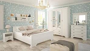 Спальня комплект-1 Ирис МЕБЕЛЬ СЕРВИС 160х200 Андерсон пайн