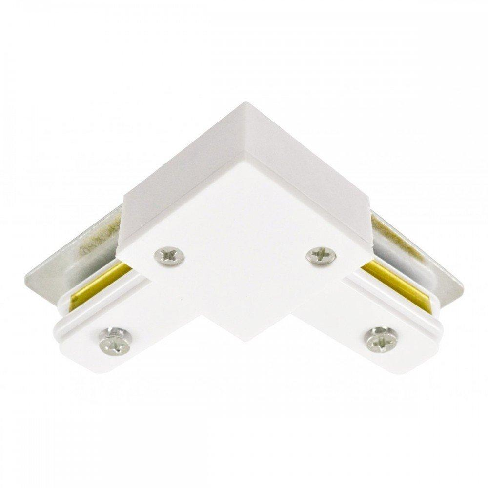 Коннектор угловой LD1001 белый