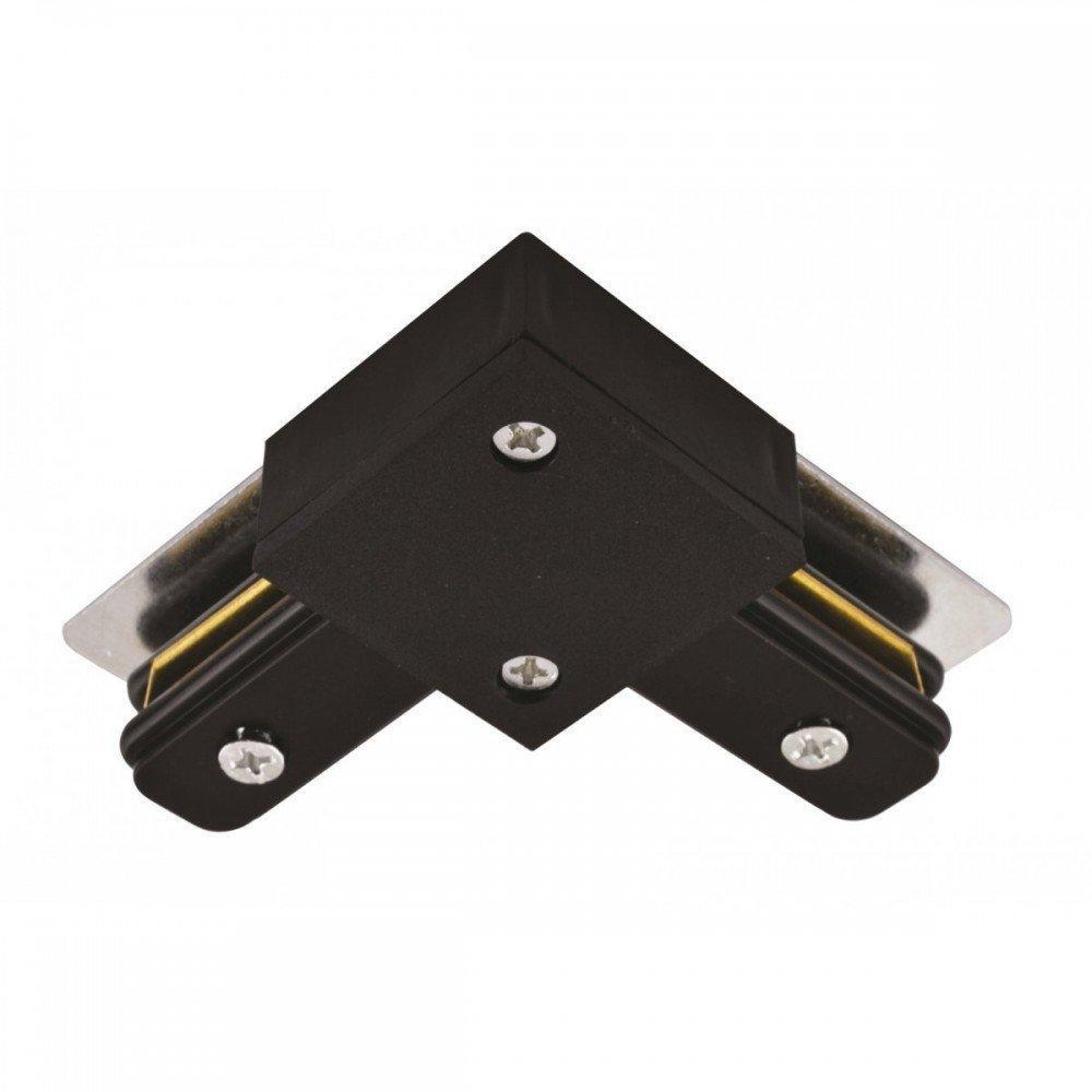 Коннектор угловой LD1001 черный