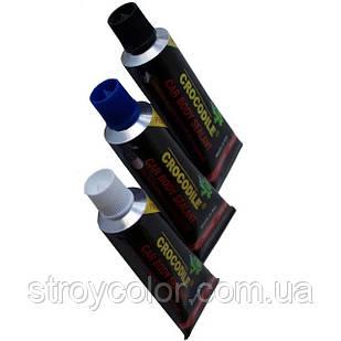 Клей-герметик черный полиуретановый автомобильный Crocodile (Крокодил) PU 210FC 60 мл