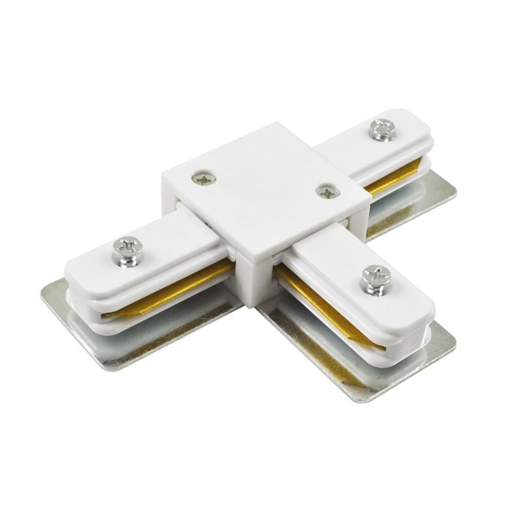 Коннектор Т-образный LD1003 белый