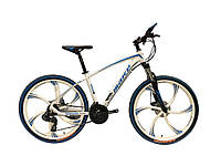 """Велосипед на литых дисках MTB2 26"""" белый"""