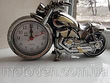 Будильник - мотоцикл, мотогодини, годинники настільні у вигляді мотоцикла (варіант 1)