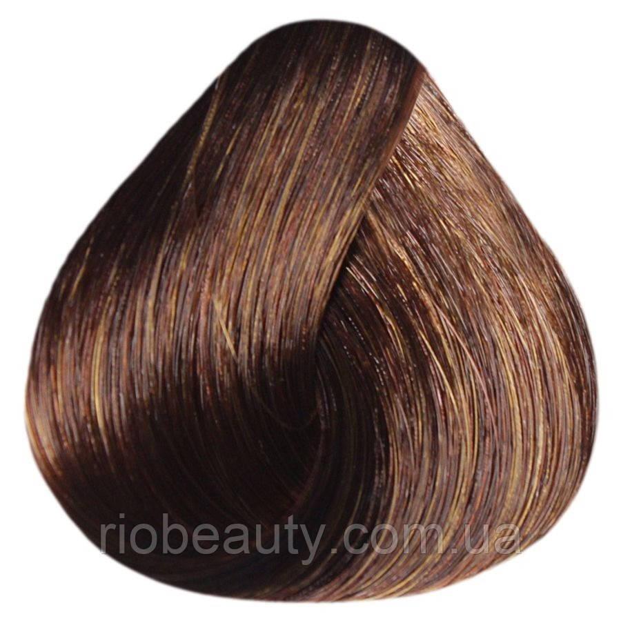 Краска уход ESTEL SILVER De Luxe 7/47 Русый медно-коричневый  60 мл