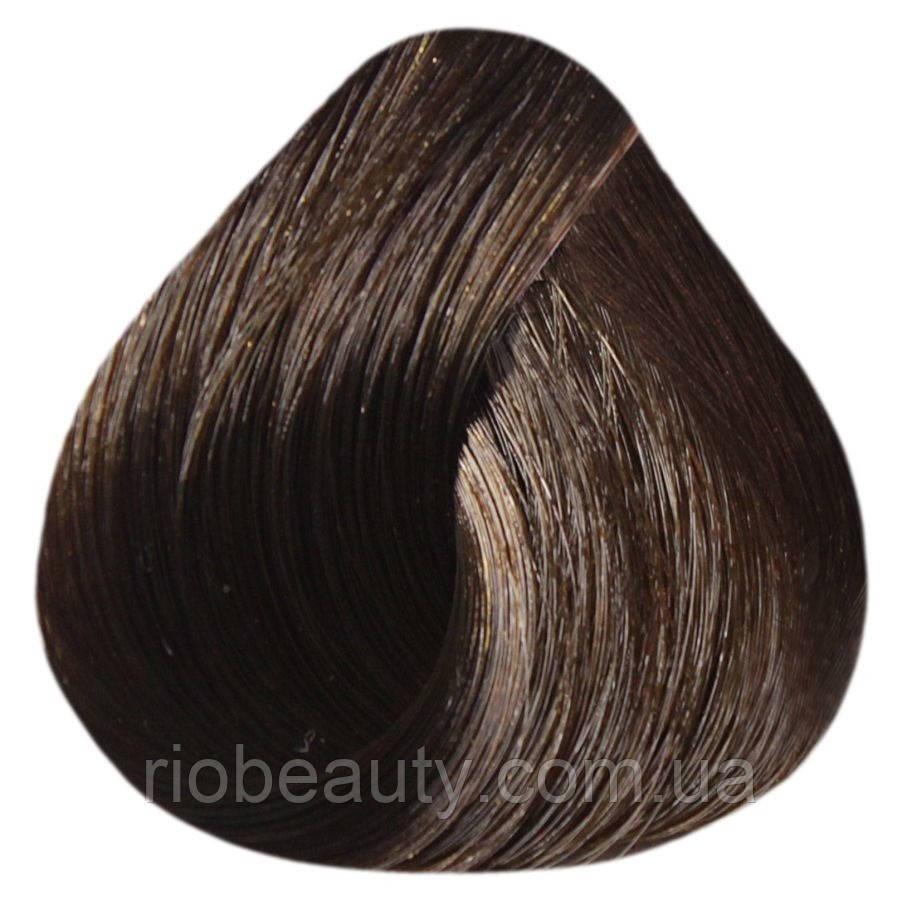 Краска уход ESTEL SILVER De Luxe 6/37 Темно-русый золотисто-коричневый 60 мл