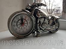 Будильник - мотоцикл, мотогодини, годинники настільні у вигляді мотоцикла (варіант 2)