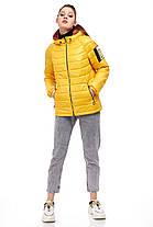 Яскрава жіноча куртка жовтого кольору, розмір 42-50, фото 3