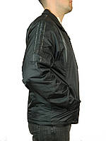 Мужская ветровка adidas на тонком синтепоне   р-р 46-52,черная.Предоплата