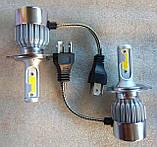 Лампы LED C6 H4 36w 3800Lm комплект, фото 3