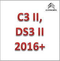 C3 II, DS3 II 2016+