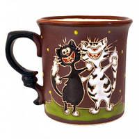 Чашка для чая Коты весельчаки