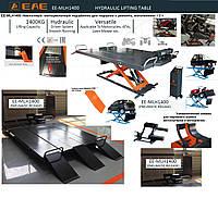 ЕЕ-MLН1400 Ножничный подъ мотоциклетный подъёмник для подъема и ремонта, мототехники 1.4 т.