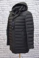 Мужская зимняя куртка BLACK VINYL1558 (био-пух)Original
