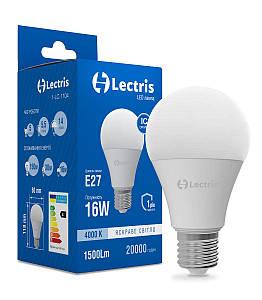 Лампа LED Lectris A65 16W 4000K 220V E27