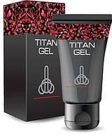 Titan Gel Титан Гель для увеличения члена. Оригинал 50 мл черный тюбик