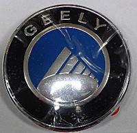 Емблема-напис Джилі СК/МК, Geely CK/MK, ЗАДНЯ, діаметр 8 см