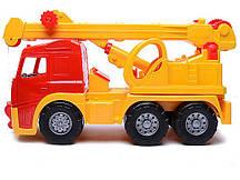 """Машинка """"Акрос"""" бортовая №3: машинка, конструктор"""