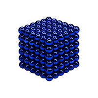 Синий Неокуб Neocube 216 магнитных шариков 5 мм.