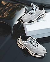 Кроссовки Balenciaga Triple S (Баленсиага) Женские/Мужские (Кросівки Жіночі / Чоловічі) Размер 36 и 40
